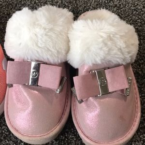 Nike Shoes - Nike tennis shoes Michael Kors slippers size 12